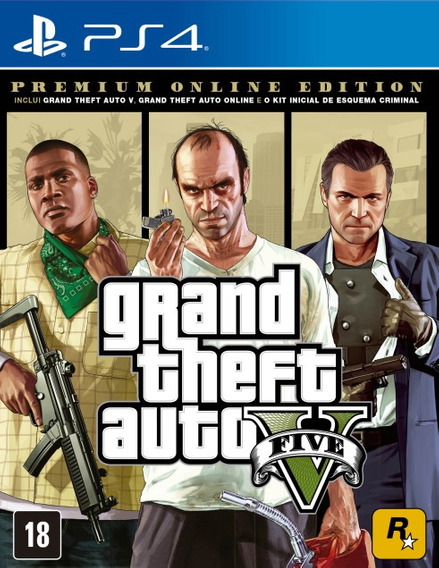 Gta V Premium Online Edition - Ps4