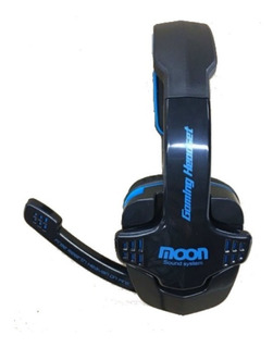 Auriculares Microfono Pc Gamer Notebook Moon Ma2760pcmu