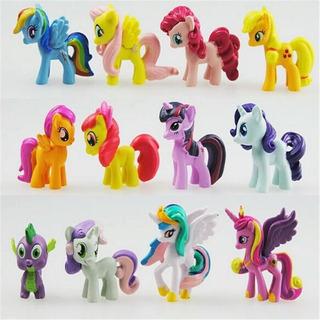 Set My Litle Pony 12 Figuritas