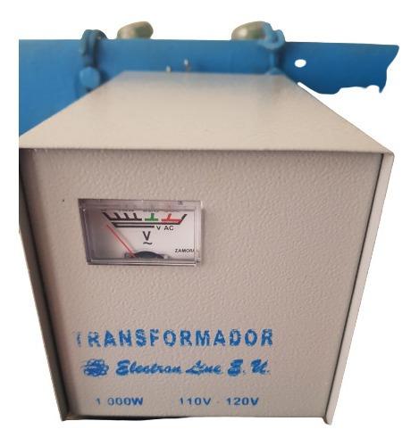 Elevador De Voltages E110v A S220v Capacidad Real 1000watios