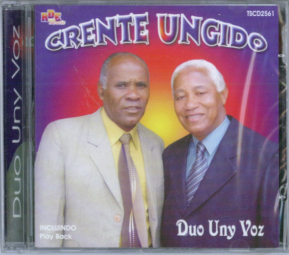 Cd Duo Uny Voz - Crente Ungido / Bônus Playback