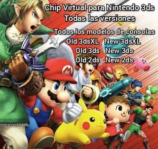 Chip Virtual Nintendo Ds2d Ds3d Ds3dxl + Primera Recarga