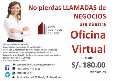 Oficinas Virtuales En Miraflores