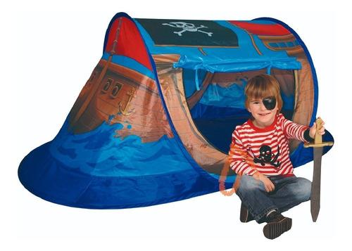 Carpa Infantil Barco Pirata 2 Entradas  Cod 8733