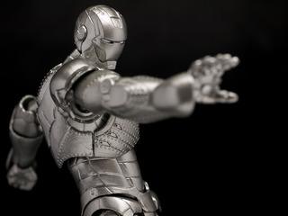Figura Iron Man Mark 2 Kaiyodo Si-fi Revoltech 035 Original