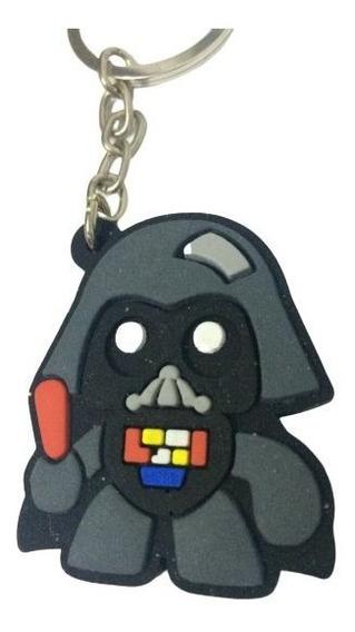 Chaveiro Star Wars Darth Vader Vilão Emborrachado Importado