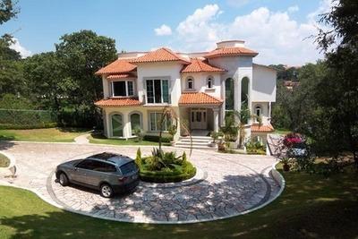 Vv165.-estilo Y Elegancia. Residencia En Hacienda De Valle Escondido.