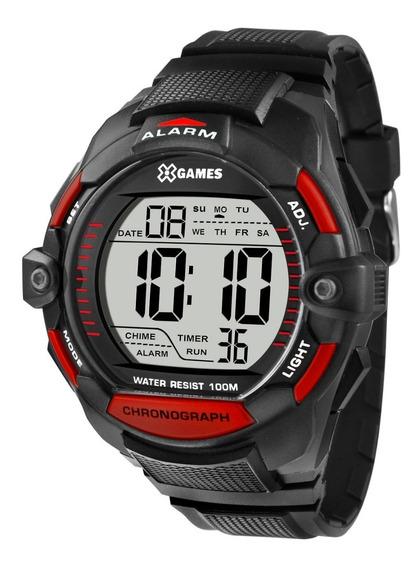Relógio X-games Masculino Digital Xmppd430 Bxpx Vermelho