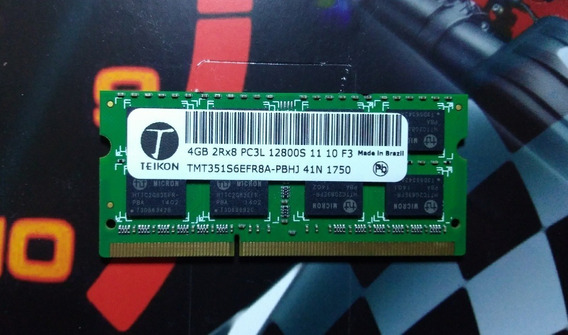 Memória Ram Teikon 4gb Ddr3 -1600 Mhz (notebook)