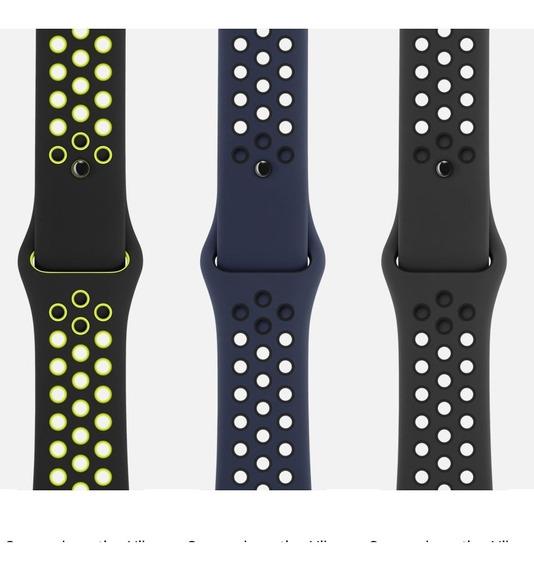 2 Extensibles Apple Watch Fitnes Sport Nike Msi