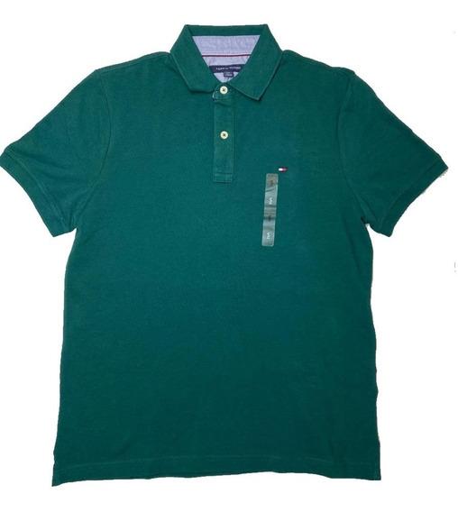 Playera Tommy Polo Verde Original Cómoda Moda Ralph Lauren