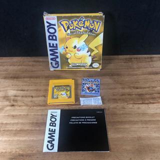 Pokémon Amarelo Yellow Original Na Caixa P/ Gameboy Color!!