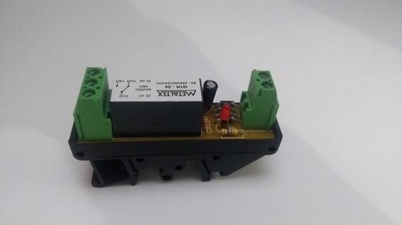 Rele Acoplador Interface Q1r-24 8a 24vcc/vac - Metaltex