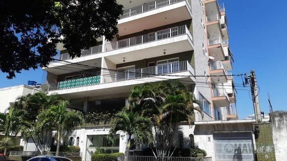 Apartamento Com 2 Dormitórios Para Alugar, 110 M² Por R$ 1.300,00/mês - Vila Valqueire - Rio De Janeiro/rj - Ap0393