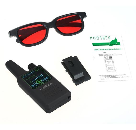 Quelima M003 Rf Detectores De Câmera Oculta Gsm Audio Finder