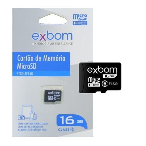 Cartão Memoria Exbom 16gb