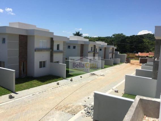 Casa Em Condomínio Com 3 Dormitórios À Venda, 95 M² Por R$ 340.000 - Freguesia Da Escada - Guararema/sp - Ca0566