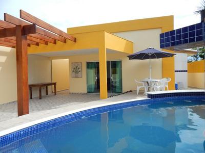 Casa Mobiliada C/ Piscina No Bairro Nova Peruíbe A Venda