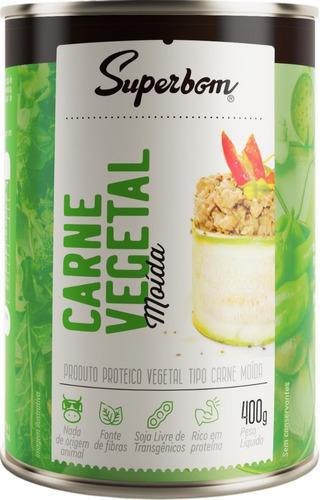 Carne Moída Vegetal 400g - Superbom