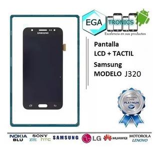 Pantalla Lcd + Mica Tactil Samsung J3 2016 J320 J320m Brillo