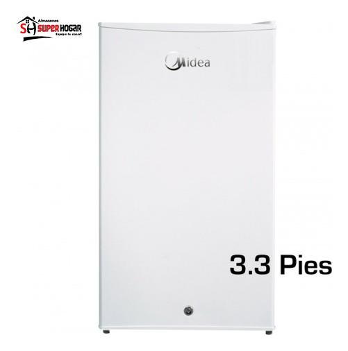 Minibar Refrigeradora Midea 93 Lts Blanca Llav Mini Bar Pies