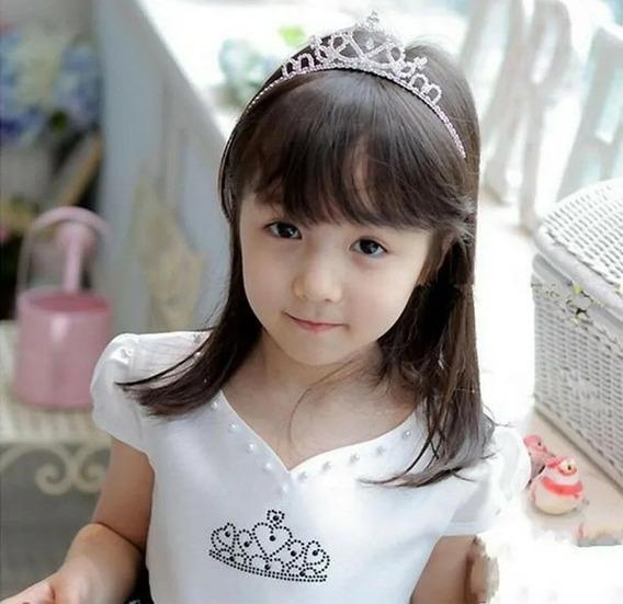 Tiara Noiva Strass Coroa Princesa Casamento Festa