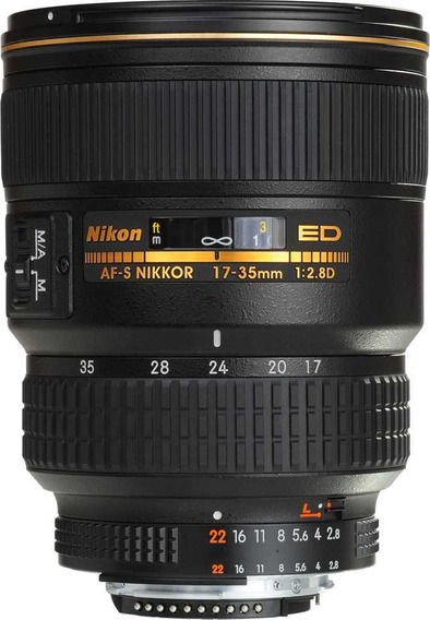 Lente Nikon 17-35 F2.8 If-ed