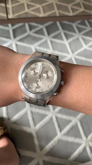 Relógio Swatch Swiss (original) Irony Diaphane - Usado
