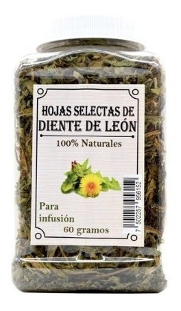Hojas Diente De Leon Diurético No Retiene Líquidos