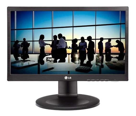 Monitor Lg Led 19.5´ Vga Dvi Altura Ajustável 20m35pd