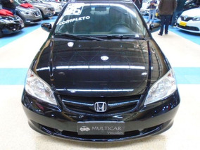 Civic 1.7 Lx 16v 2006 Preta