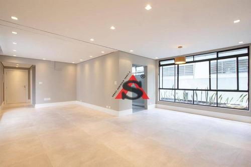Imagem 1 de 15 de Apartamento Com 3 Dormitórios À Venda, 178 M² Por R$ 1.980.000,00 - Jardim Paulista - São Paulo/sp - Ap43489