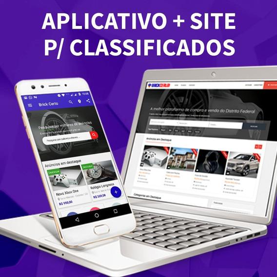 Classificados Aplicativo + Site