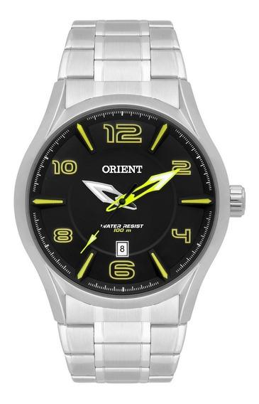 Relógio Orient Masculino Mbss1318 Pysx Lindo Presente