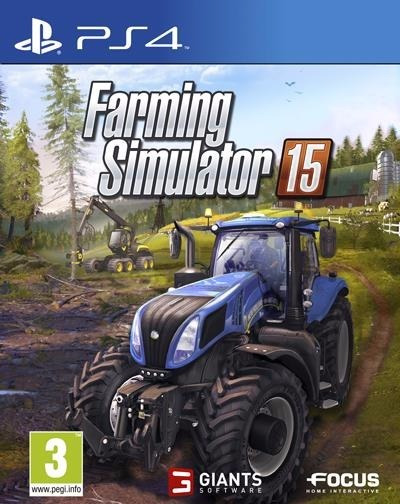 Farming Simulator 15 Ps4 2ª Digital Psn