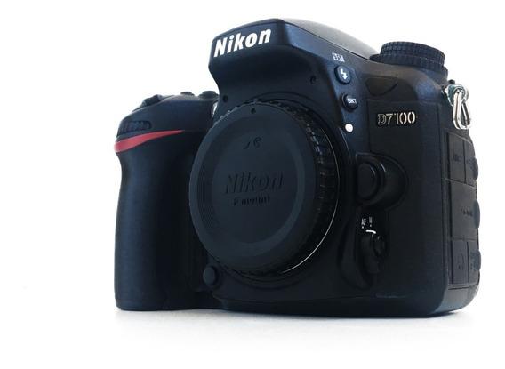 Câmera Nikon Dlsr D7100 Usada