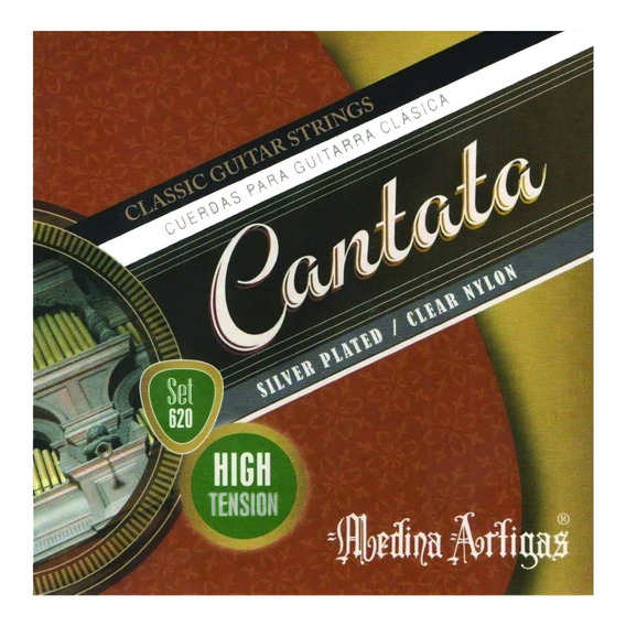 Encordado Guitarra Clasica Cantata 620 Tension Alta
