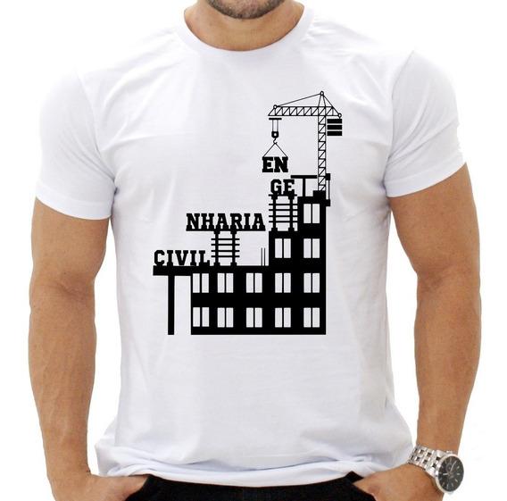 Camisa Camiseta Engenharia Civil