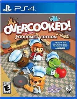 Overcooked Gourmet Edition Ps4(nuevo Y Sellado De Fabrica)