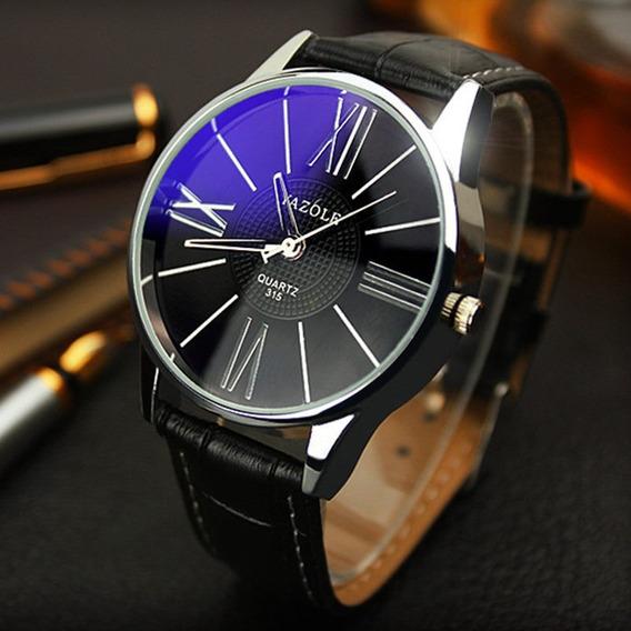 Relógio Yazole De Quartzo Dos Homens De Luxo