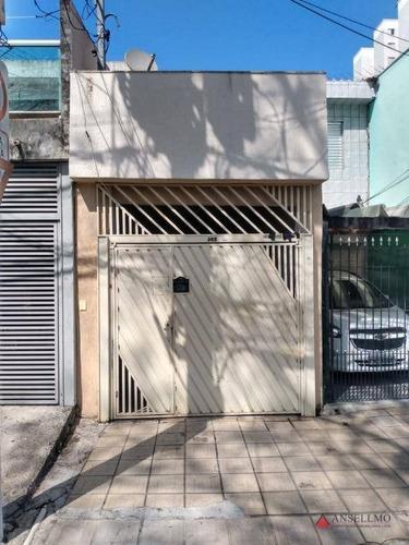 Sobrado Com 2 Dormitórios À Venda, 85 M² Por R$ 387.000,00 - Taboão - São Bernardo Do Campo/sp - So0932