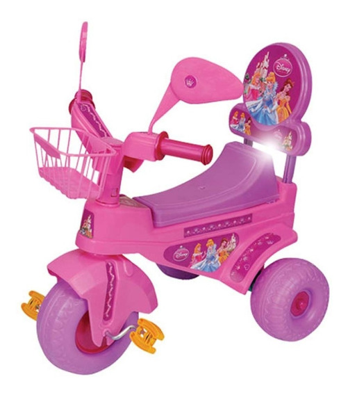 Triciclo Mickey Minnie Spiderman Toy Story Cars Pooh Princes