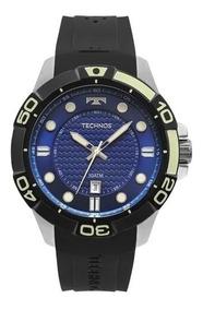 Relógio Technos Acqua Masculino Prata 2315kzq/8a