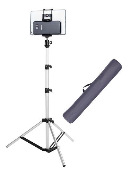 Suporte Pedestal Tripé Para Celular iPad Tablet