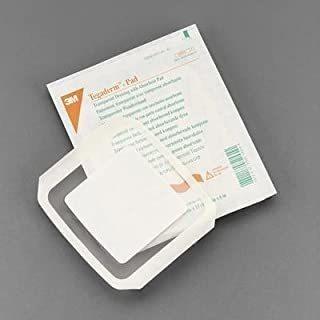 3m Tegaderm +pad Film Dressing W/non-adherent Pad, 3 1/2 X