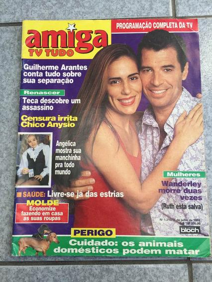 Revista Amiga Mulheres De Areia Guilherme Arantes Angélica