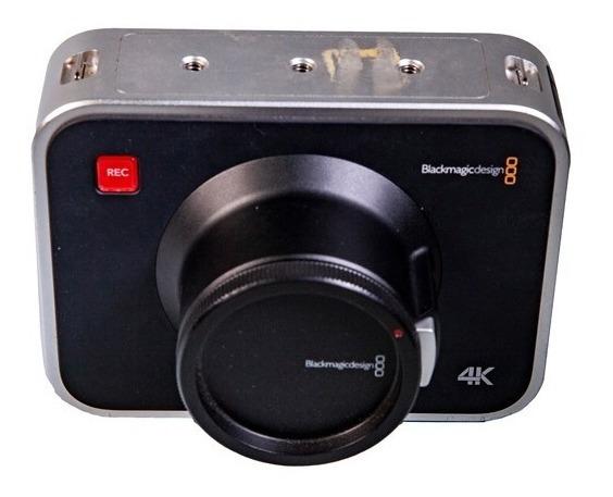 Câmera Blackmagic Design 4k Production