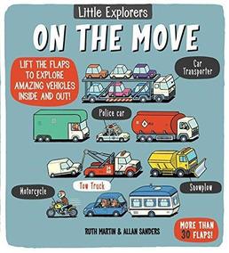 Little Explorers : On The Move - Little Bee Books De Martin,