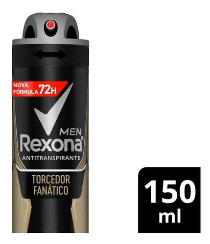 Desodorante Rexona Men Motion Sense Torcedor Fanático 150ml