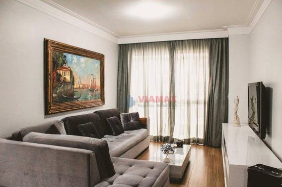 Apartamento Com 3 Dormitórios À Venda, 104 M² Por R$ 668.000 - Urbanova - São José Dos Campos/sp - Ap2625